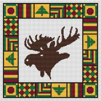 Country Quilt - Moose PDF