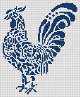 Tribal Rooster