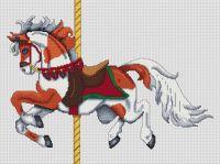 Sorrel Paint Carousel Horse PDF