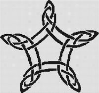 Celtic Star Knot