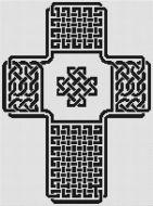 Celtic Knot Cross 1