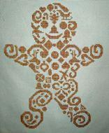 Tribal Gingerbread Man PDF