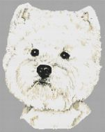 West Highland Terrier Portrait