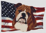 Patriotic Bulldog